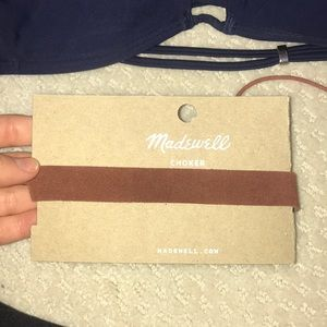 Madewell Brown Choker